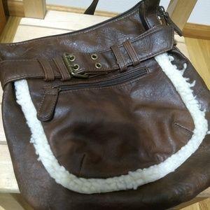 Handbags - Unique Faux Leather Crossbody Purse